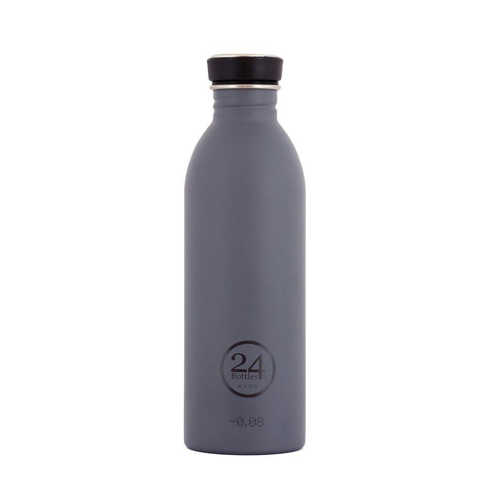 義大利 24Bottles 輕量冷水瓶 500ml (雅典灰)