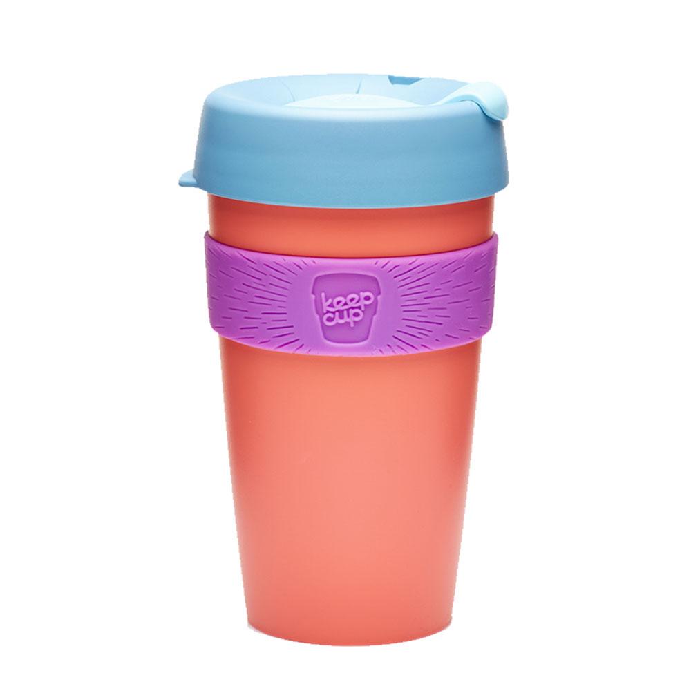 澳洲 KeepCup 隨身咖啡杯 隨行杯 L (杏桃)