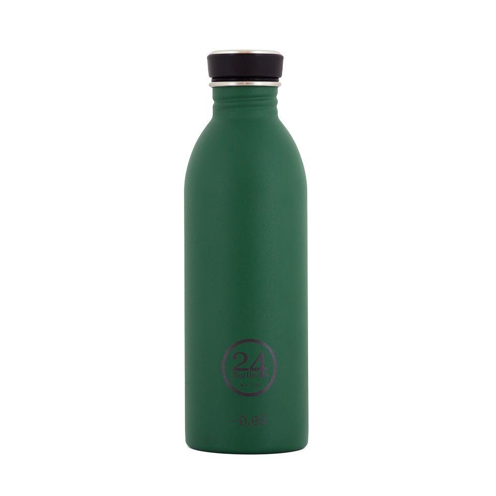 義大利 24Bottles 城市水瓶 500ml (森林綠)