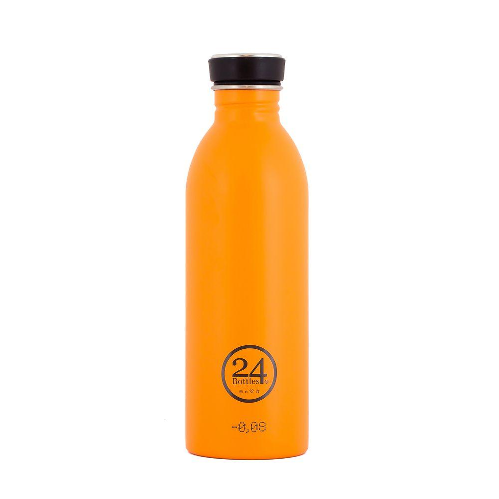 義大利 24Bottles 輕量冷水瓶 500ml (極致橙)