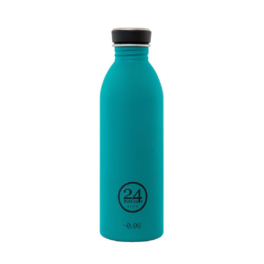 義大利 24Bottles 輕量冷水瓶 500ml (海灣藍)