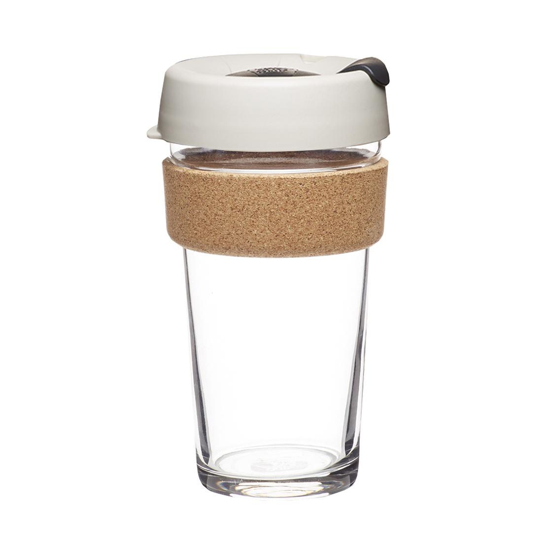 澳洲 KeepCup 隨身咖啡杯 軟木系列 L - 淺烘培