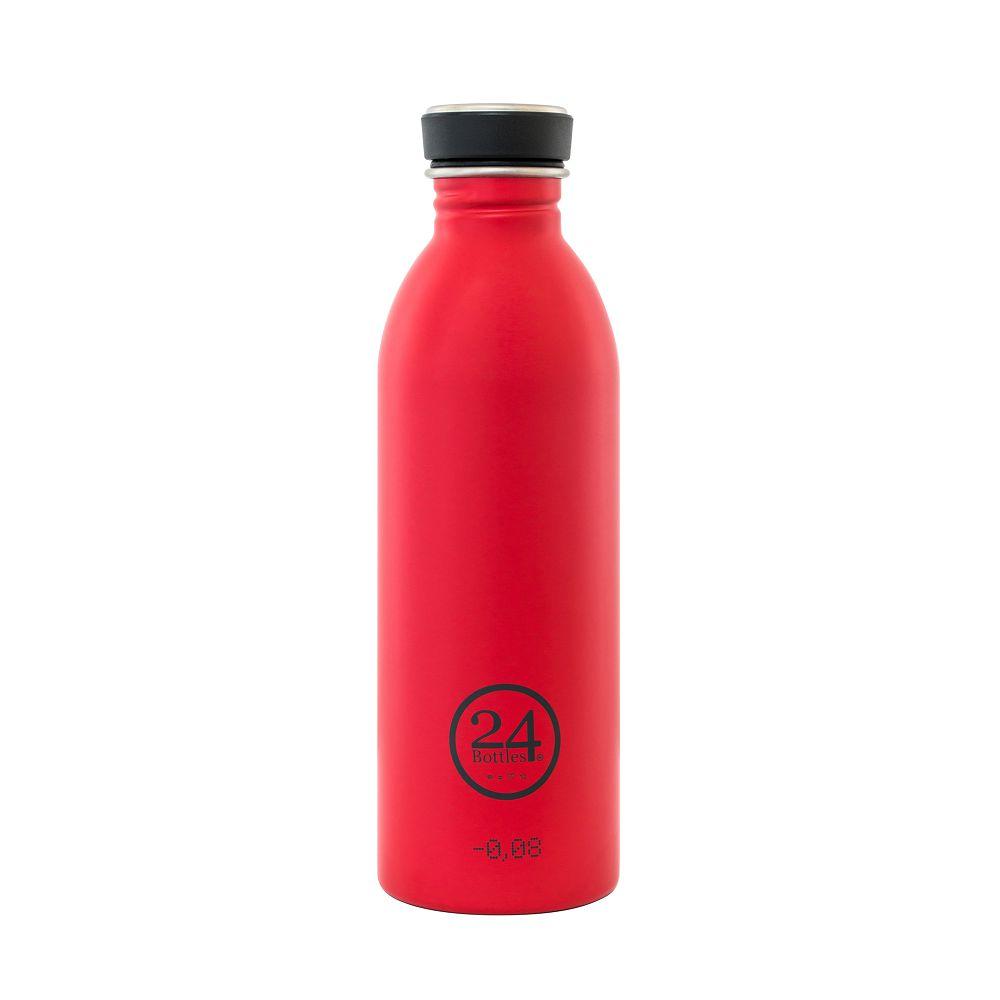 義大利 24Bottles 城市水瓶 500ml (熱火紅)