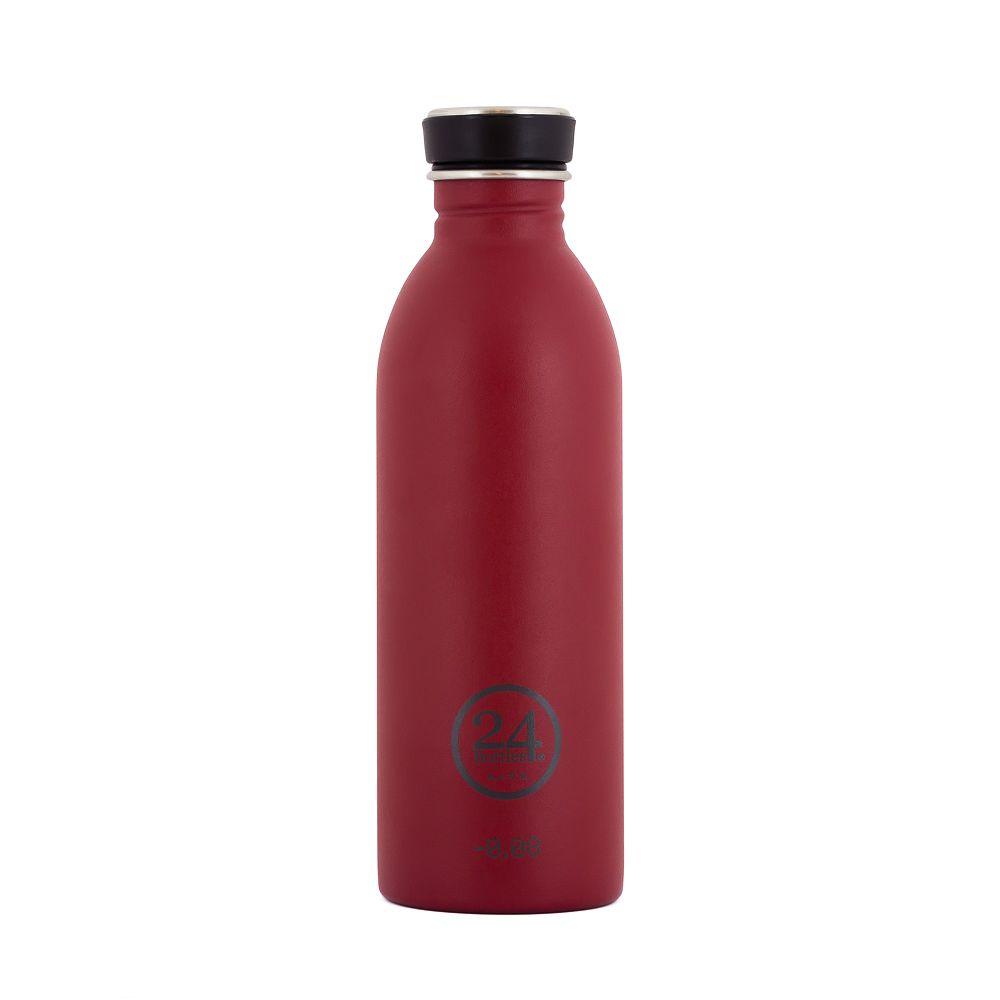 義大利 24Bottles 城市水瓶 500ml (酒釀紅)
