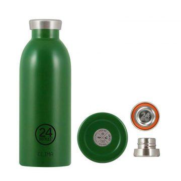 24Bottles_不鏽鋼雙層保溫瓶500ml_森林綠1