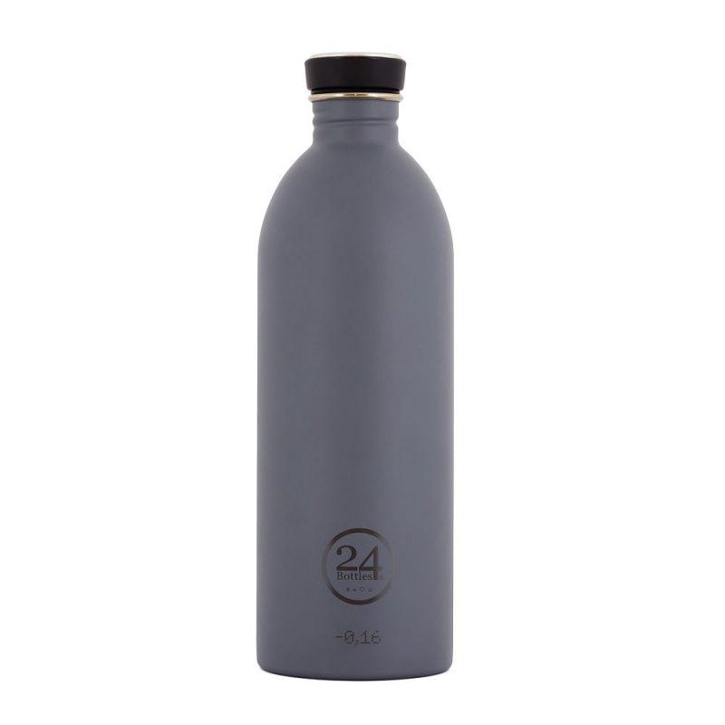 義大利 24Bottles 輕量冷水瓶 1000ml (雅典灰)