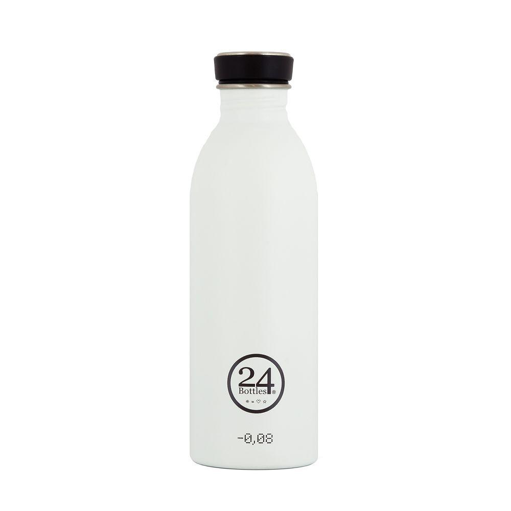 義大利 24Bottles 城市水瓶 500ml (冰雪白)