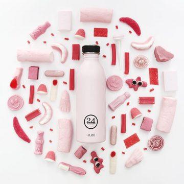 義大利 24Bottles 城市水瓶 500ml (糖果粉)