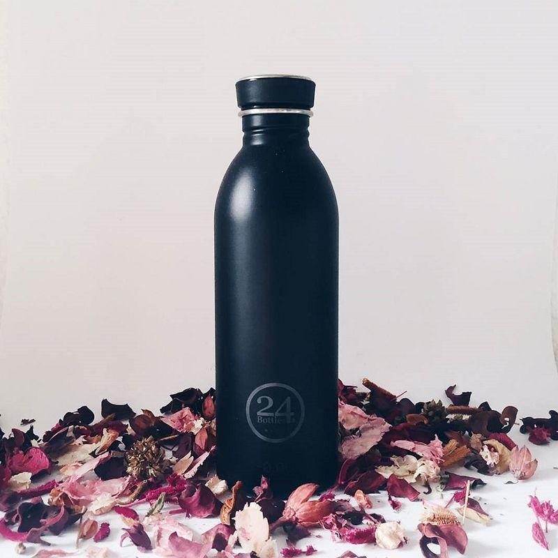 義大利 24Bottles 城市水瓶 500ml (紳士黑)