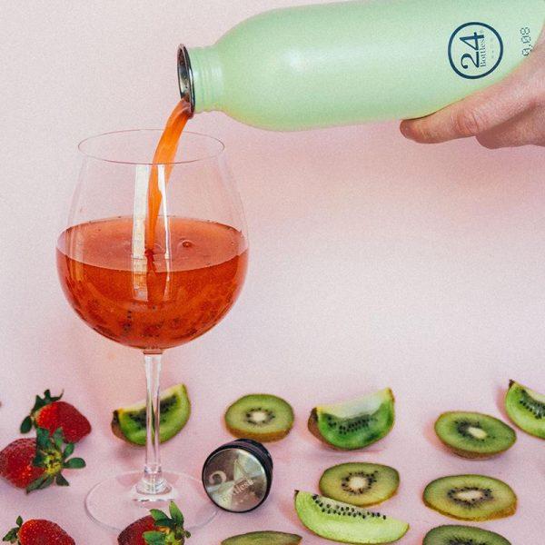 義大利 24Bottles 城市水瓶 500ml (開心果)