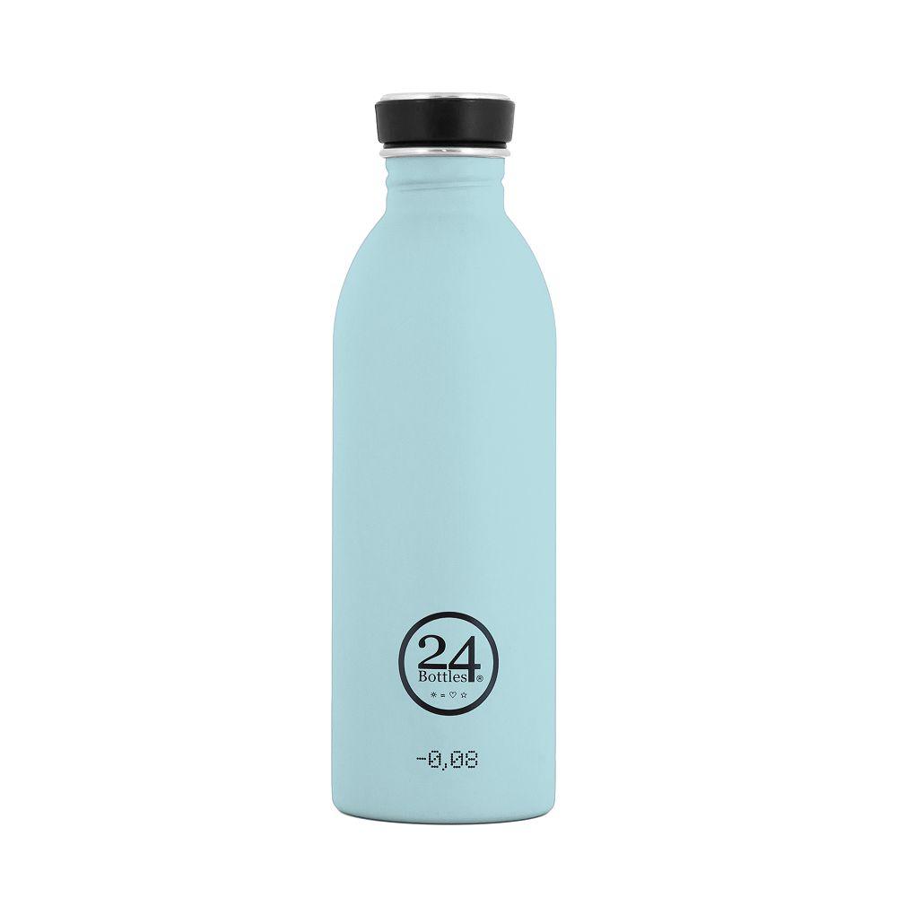 義大利 24Bottles 城市水瓶 500ml (天空藍)