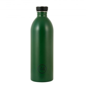 義大利 24Bottles 城市水瓶 1000ml (森林綠)