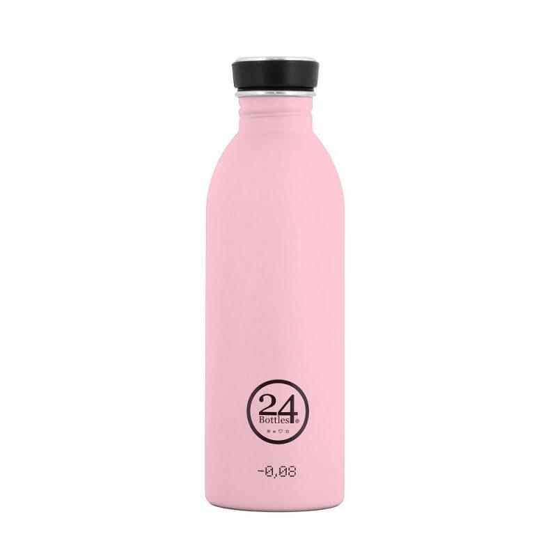 義大利 24Bottles 輕量冷水瓶 500ml (糖果粉)