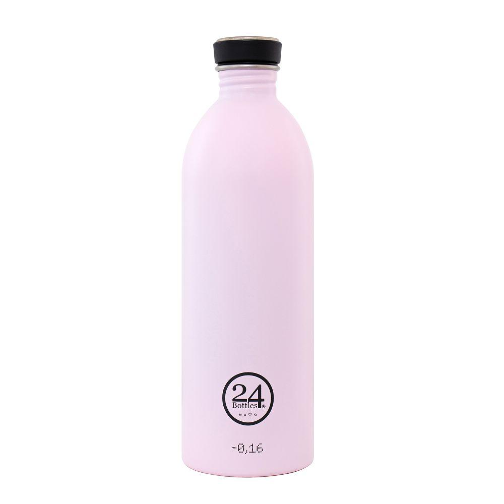義大利 24Bottles 城市水瓶 1000ml (糖果粉)