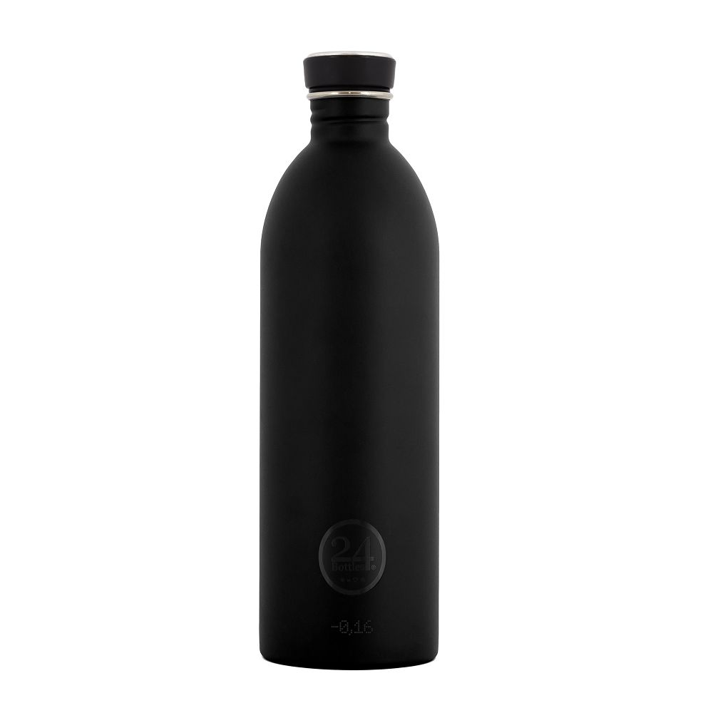義大利 24Bottles 城市水瓶 1000ml (紳士黑)