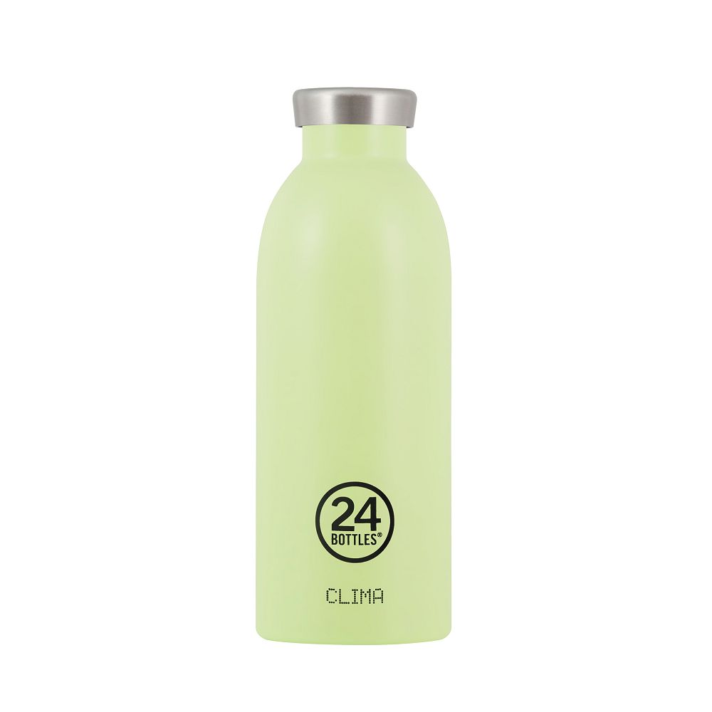 義大利 24Bottles 不鏽鋼雙層保溫瓶 500ml (開心果)