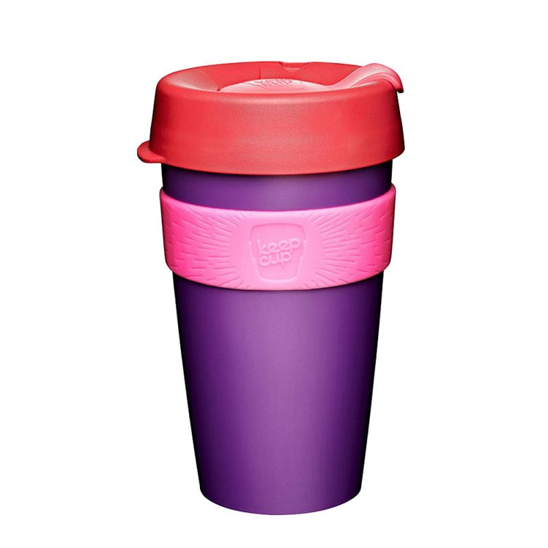 澳洲 KeepCup 隨身咖啡杯 隨行杯 L (紅莓)