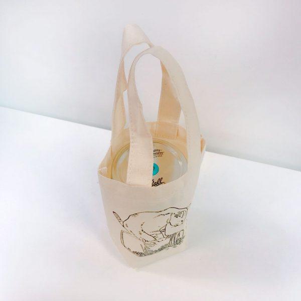 Ball 梅森罐飲料環保杯袋 (慵懶貓咪款)