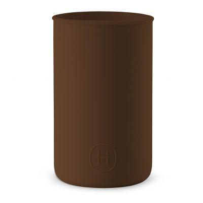 美國 HYDY 時尚不銹鋼保溫水瓶專用矽膠套 (摩卡)