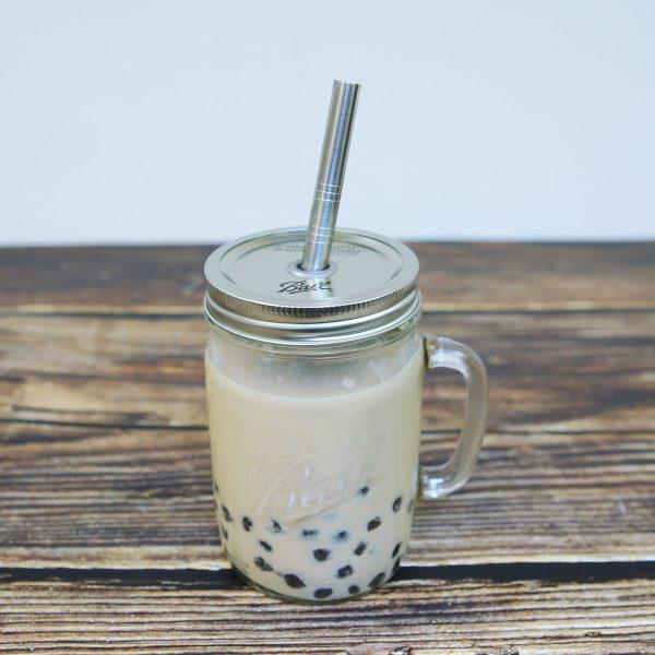 美國 Ball 梅森罐 珍奶必備手搖飲料杯組 24oz 寬口馬克杯