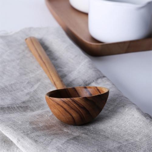 泰國 CHABATREE 柚木燉湯勺