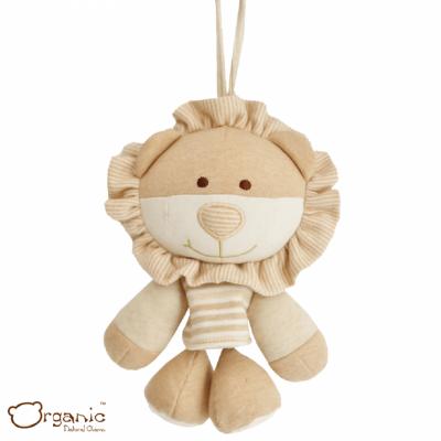 Organic_有機棉嬰兒玩具_搖籃音樂鈴_小獅