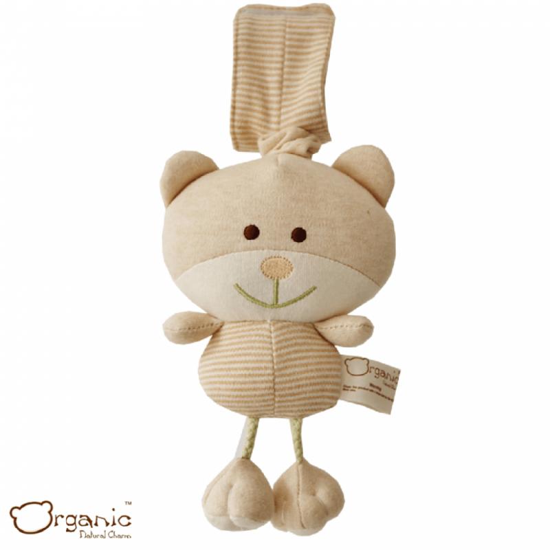 Organic_有機棉嬰兒玩具_樂樂音樂鈴_小熊