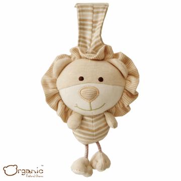 Organic_有機棉嬰兒玩具_樂樂音樂鈴_小獅