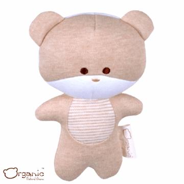 Organic_有機棉嬰兒玩具_啾咪安撫娃娃_小熊
