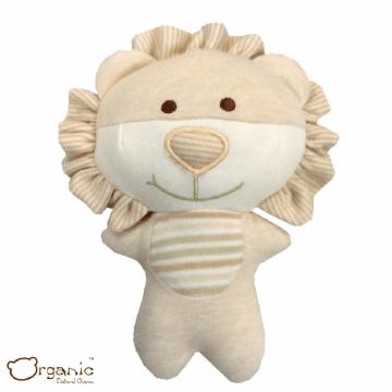 Organic_有機棉嬰兒玩具_啾咪安撫娃娃_小獅