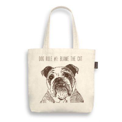 P.L.A.Y. 環保購物袋 英國鬥牛犬