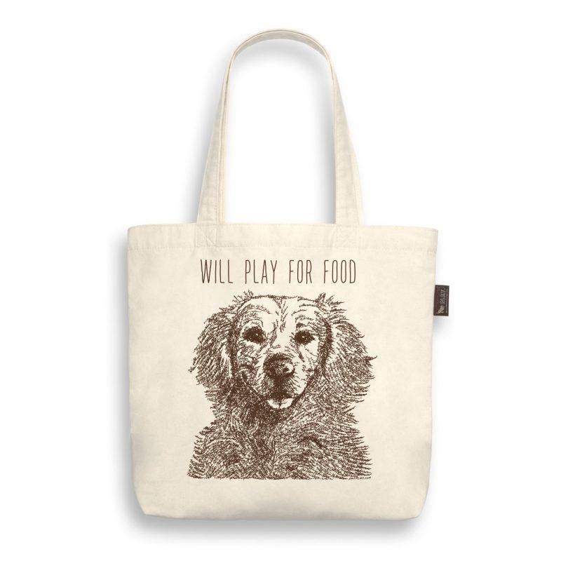 Play-環保購物袋-黃金獵犬