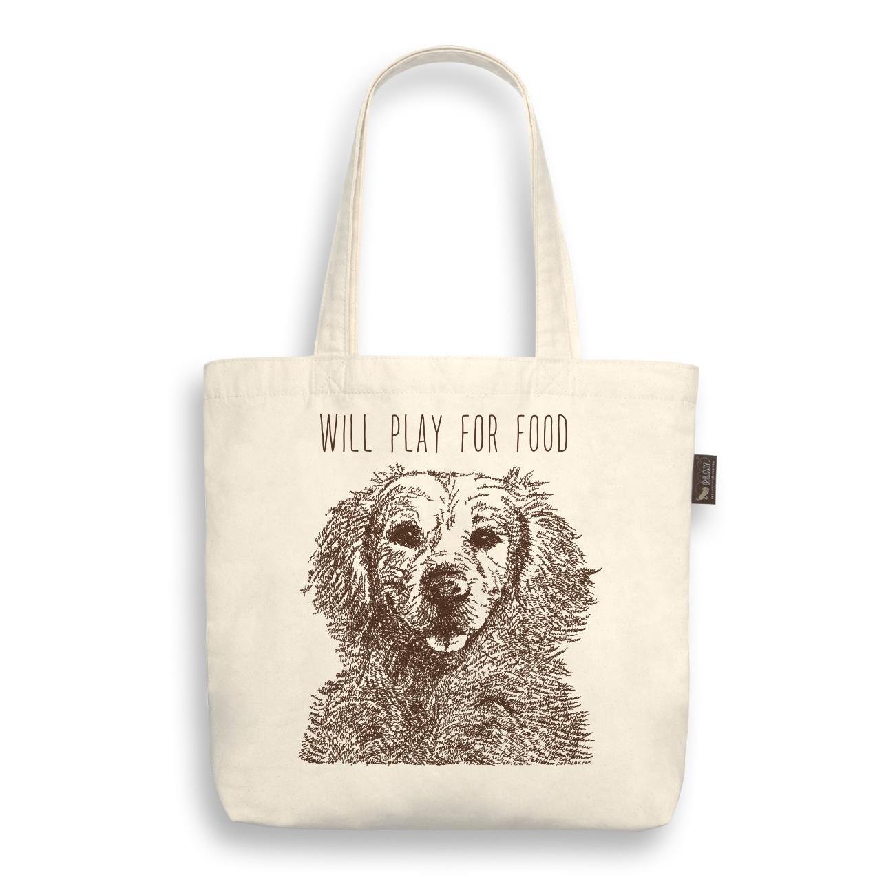 美國 P.L.A.Y. 環保購物袋 黃金獵犬