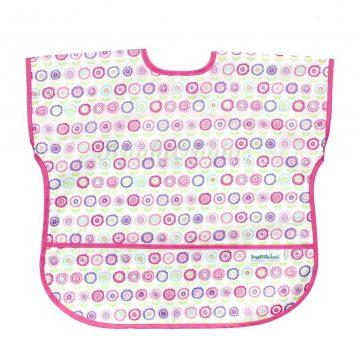 bumkins_短袖粉紅點點-1