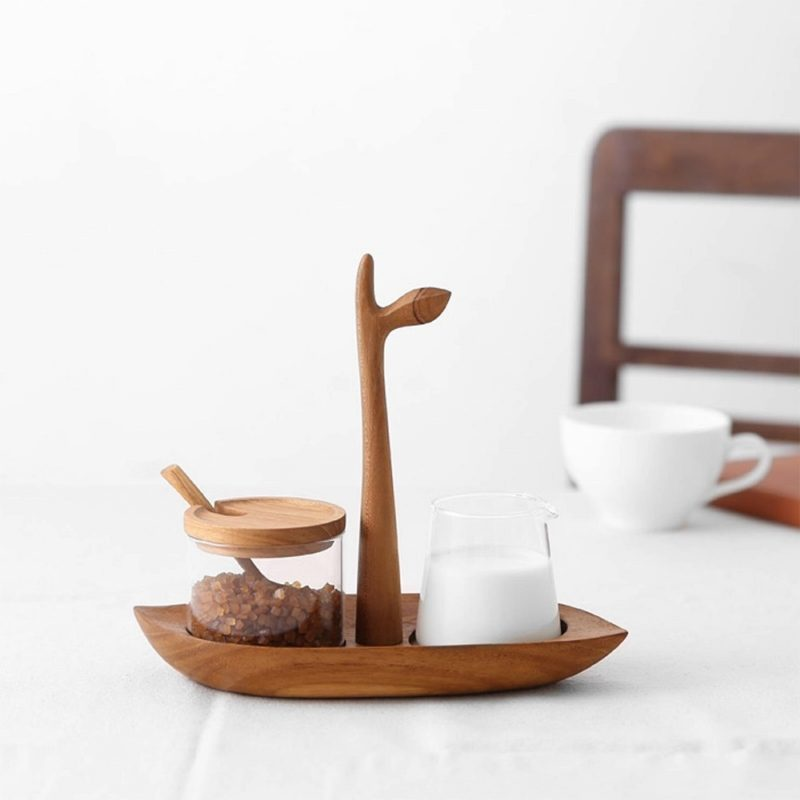 泰國 CHABATREE LIFE午茶配件組 (糖奶架)