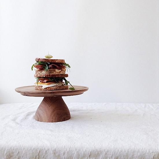 泰國 CHABATREE Marietopia 蛋糕盤 - L