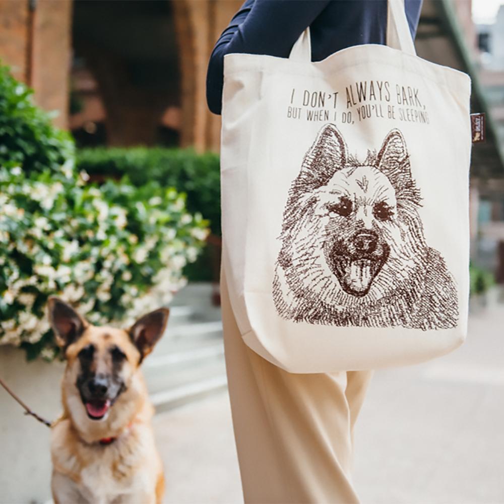 美國 P.L.A.Y. 環保購物袋 德國狼犬