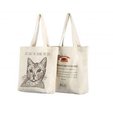 play環保購物袋-貓咪正反