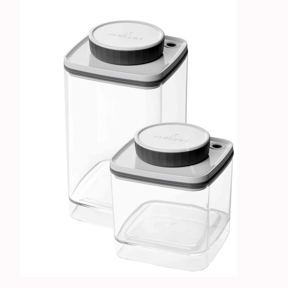 ANKOMN Turn-N-Seal 真空保鮮盒 1.2L+0.6L