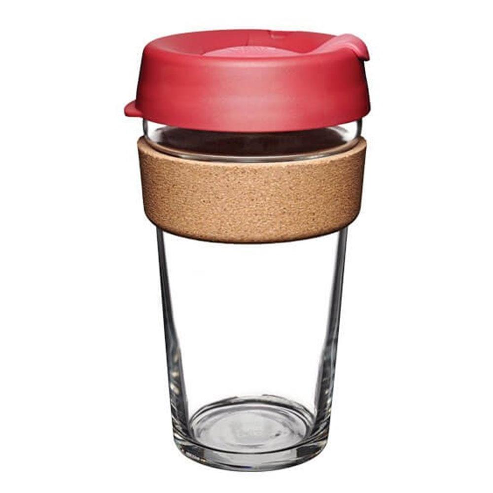 澳洲 KeepCup 隨身咖啡杯 軟木系列 L - 熱情