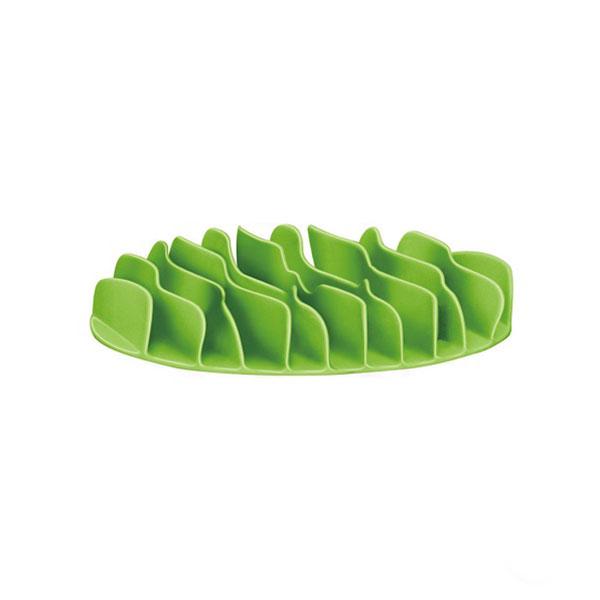 Outward Hound 波浪慢食碗 S 綠色