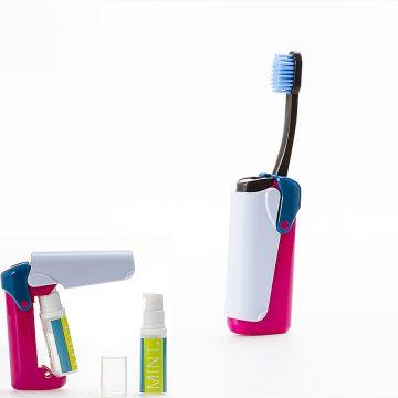 義大利 BANALE 隨身旅用牙刷組 (IRIS + 補充包)