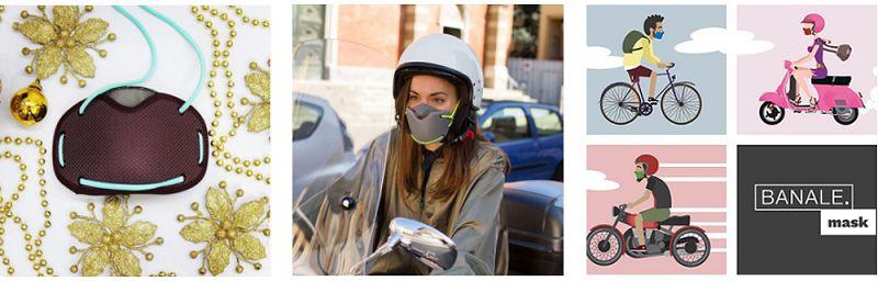 義大利 BANALE 機能防護過濾口罩替芯組