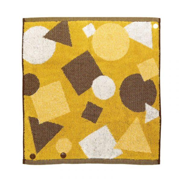 日本 今治毛巾 池內有機 桃莉三合一有機棉方巾 形狀款