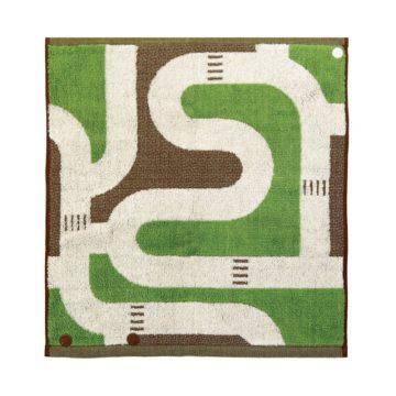 日本 今治毛巾 池內有機 桃莉三合一有機棉方巾 道路款