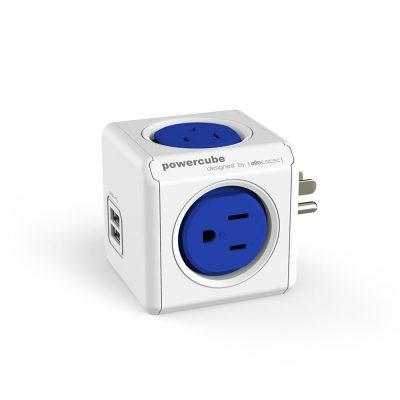 荷蘭 PowerCube 雙USB兩用擴充插座