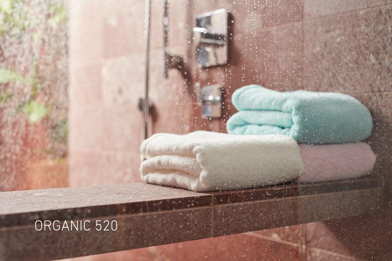 日本 今治毛巾 池內有機 極柔520系列 浴巾 / 洗臉巾 (紫)