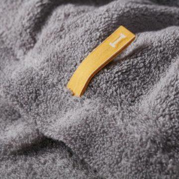 日本 今治毛巾 池內有機浴巾 極柔520系列 (灰)