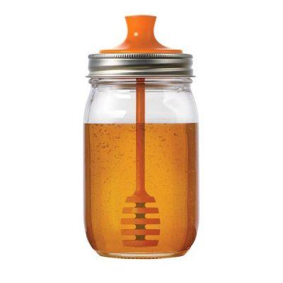 美國 JARWARE 梅森罐專用 窄口蜂蜜棒