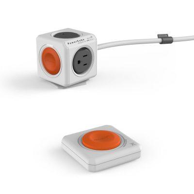荷蘭 PowerCube 延長線1.5m 遙控款
